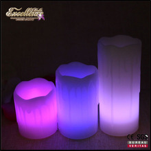 new style set flameless LED candles with remote