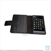 Folding PU Leather Case Cover with Detachable Wireless Bluetooth Keyboard for Google 7 2/ii P-GGNEXUS7IICASE004