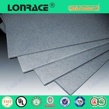 Polished Surface Interior Decorative Wall Panels Fiber Cement Board