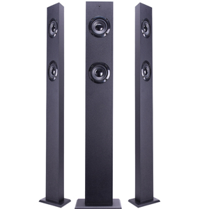 2.1 Wireless floor stand tower speaker manufacture with built-in subwoofer for home theater