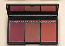 Natural 3 Mix Color makeup blush/Pressed Blush(OEM)