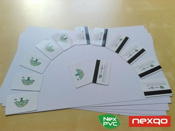 0.3mm white matte pvc rigid sheet for playing cards