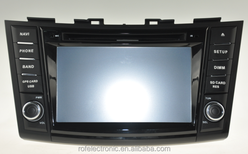 car navigation system for Suzuki Swift 2011-2012