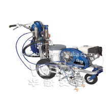 free shipping hand push hot melt road marking machine with best price