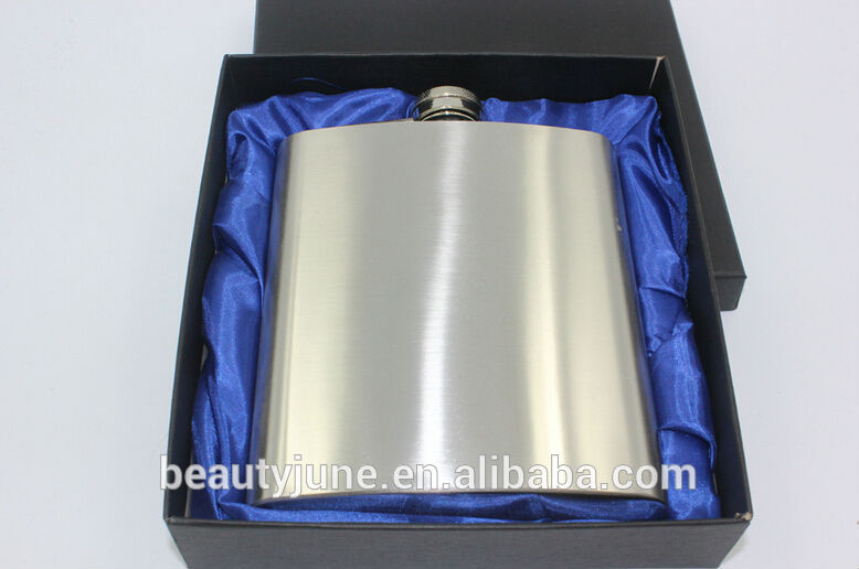 FDA wholesale flask liquor 18oz custom logo stainless steel Liquor hip flask whisky flask