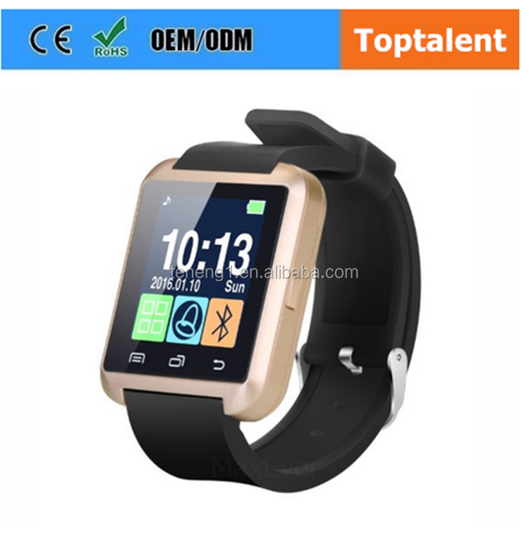 Wholesale Promotion Bluetooth Android Smart Watch U8 mobile phone