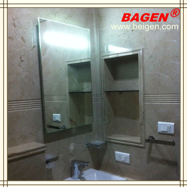 Luxurious Hotel Bathroom Accessories Set Decorating bath mirror with defogger BGL-007
