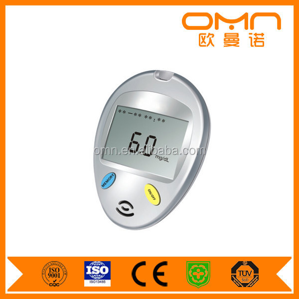 Blood Testing Equipments Medical device blood glucose and cholesterol meter with strips and lance devices blood glucose factory