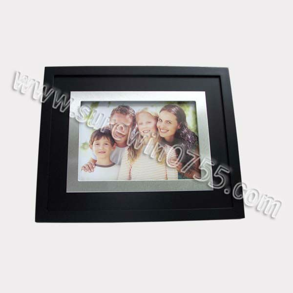 Aluminum Black Photo Frame Picture for Family