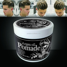 Hair care hair styling products mens pomade water based 100g 7 color styling wax pomade