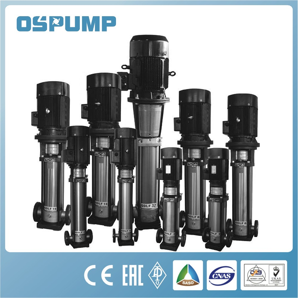 electric stainless steel centrifugal vertical multistage 2 hp water pump