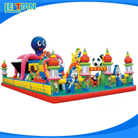 Popular Sale bounce inflatable amusement park,indoor giant inflatable playground