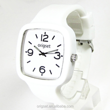 Newest interchange strap 5ATM Water resistant Japan Movement good quality Watch Custom cheap jelly watches