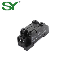 10A 300VAC Electrical Material Relay Plug Socket with CE