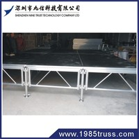 catwalk stage t shape stage mobile portable stage leg