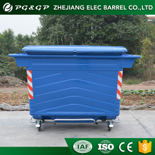 Eco-Friendly Reclaimed Material Trash Bin With Pedal