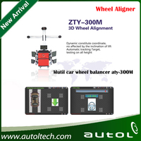 Real-time check target picture wheel balancing machine zty-300M cheap wheel balancing and alignment equipment zty-300m