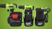 special design rechargeable 18v cordless drill battery powerful lithium ion battery pack 18v