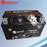 High Quality Rechargeable YTX7A-BS 12V 7AH Motorcycle Battery with Cheap Price