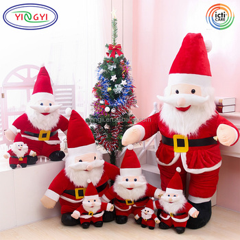 AN021 Christmas Decoration Plush Toys Santa Claus Holiday Present