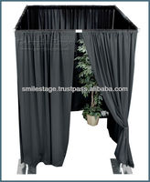2013 telescopic pipe and drape with aluminum pipe for photo booth