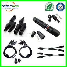 solar pv cable link Electrical wire cable terminals crimp MC4 connectors