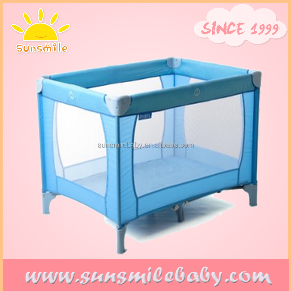 ASTM / EN standard baby folding travel bed for kids baby park bed