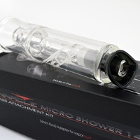 Pinnacle pro glass water tool, smoking glass pipes