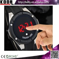 Touch Screen LED Sports Timing Clock Promotion Campaign Cheap Watches