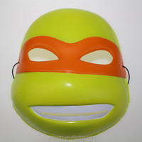 X-MERRY Teenage Mutant Ninja Turtles Japan anime funny plastic party mask for masquerade