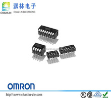 A6D-4100 NEW IP64 2.54mm pitch OMRON 2p3t SLIDE DIP SWITCH