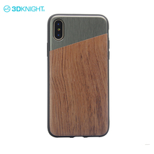Alloy and Rosewood mobile phone wood back cover case for iphone apple X madewood