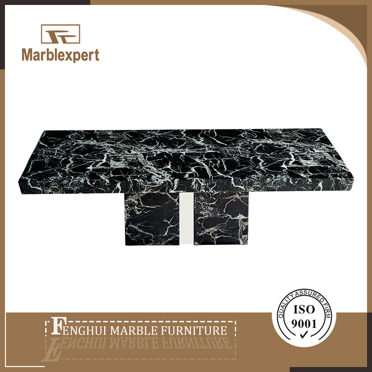 Marble cheap chinese tea table set