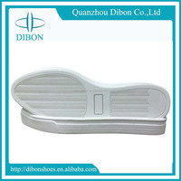 2017 latest sample women thick white canvas synthetic rubber for shoe sole