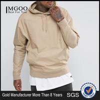 MGOO Hoodies In BuLK Plain Basic Mens Oversized Hoodies 100% Cotton French Terry Rib Cottom And Sleeve Cuff