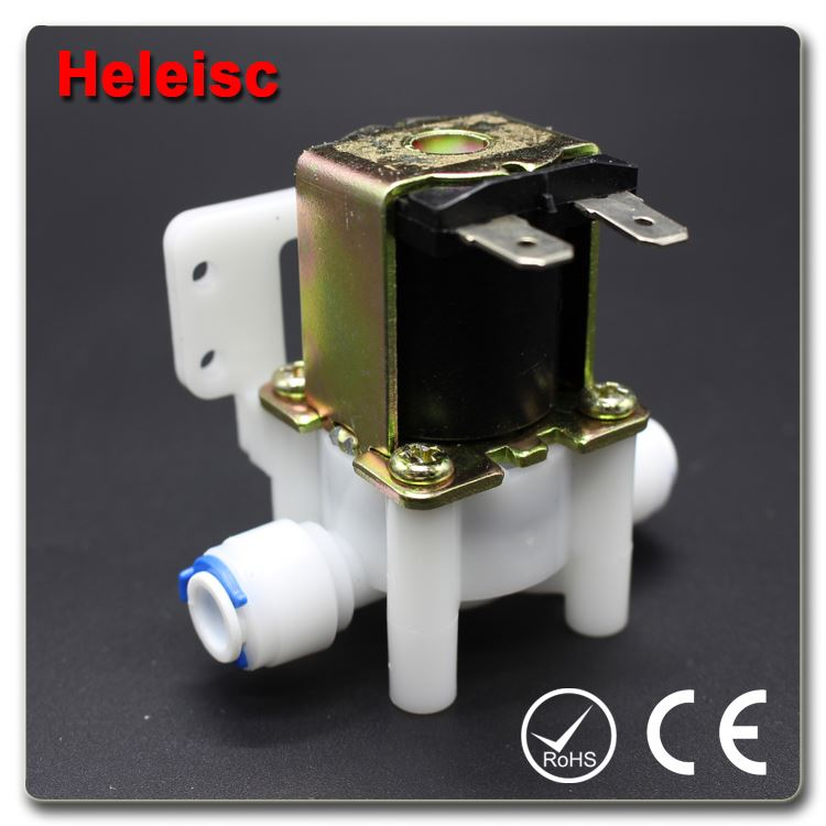 Water dispenser solenoid valve electric water valve hydraulic bleed valve