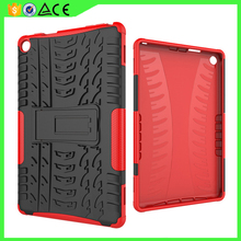 Newest design wholesale Hard PC soft TPU shockproof stand tablet case cover for Amazon Kind fire HD8