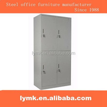 Metal office furniture supplier 4 doors clothes storage baby wardrobe locker cabinet/made in china