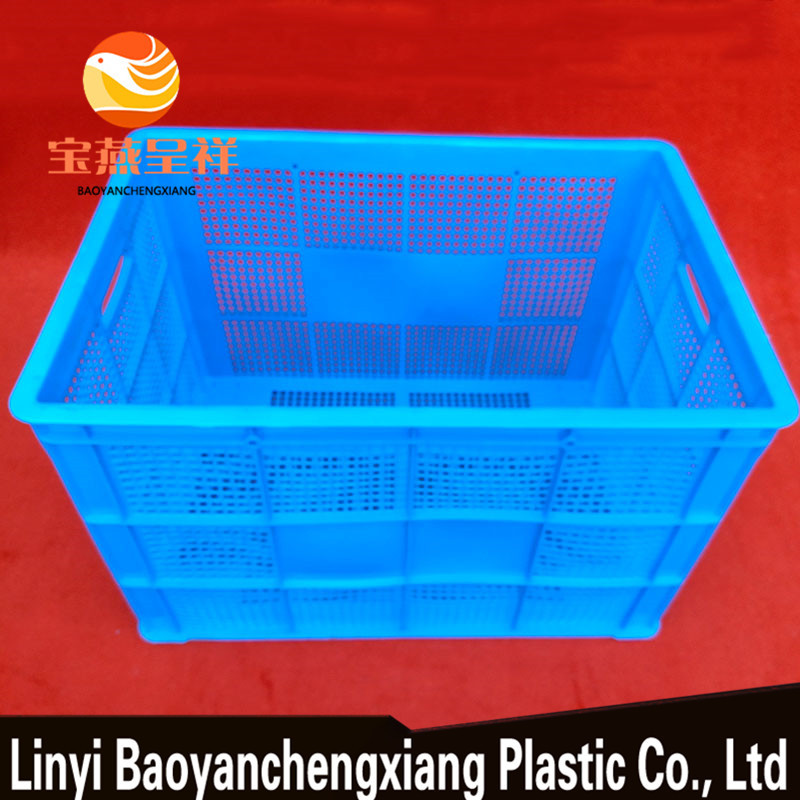 Large Plastic Stackable crates Storage Box Wheels