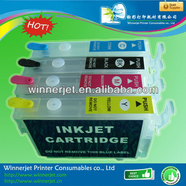 Gold supplier!!! ink cartridges wholesale for Epson WP-4351 WP-4011 4511 4521