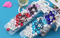 DIY Bling Diamond Phone case for iPhone 5,for iphone 5 hard phone case,for iPhone 5 pc phone case