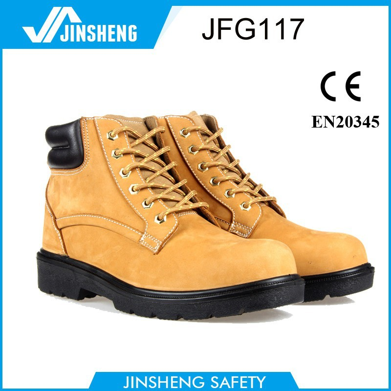 Anti-static construction shoes crazy horse leather boots military safety boots