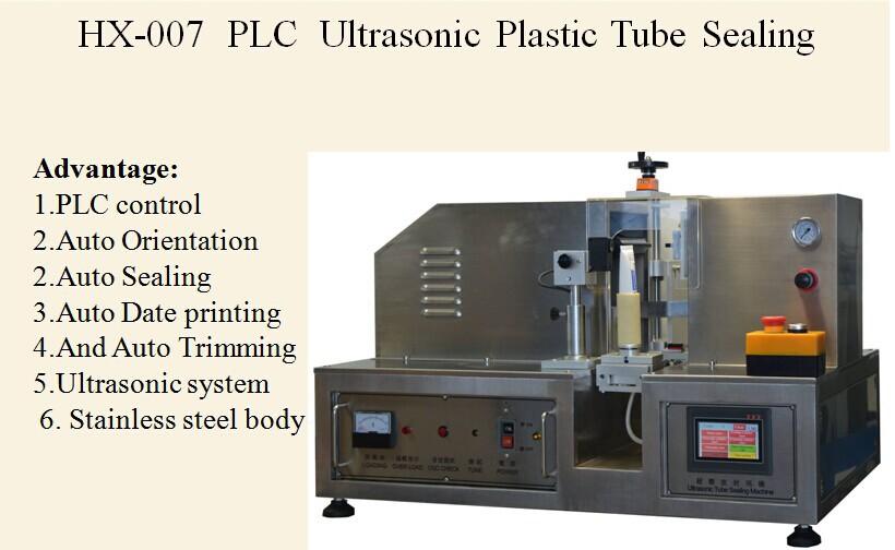 manual plastic tube sealing machine