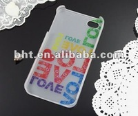 Polycarbonate Case for iPhone with water transfer logo