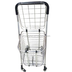 Personal shopping trolley, foldable shopping trolley, climb stair shopping trolley personal disabled shopping cart(factory)