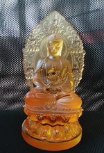 2015 new products lead crystal craft B111 Buddha statue crafts