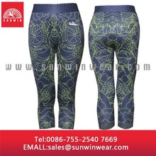 custom made 90% polyester 10% spandex yoga pants wholesale, tight yoga pants fabric