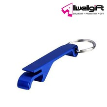 Promotion Give Away Anodized Aluminum Beer Bottle Opener Keyring