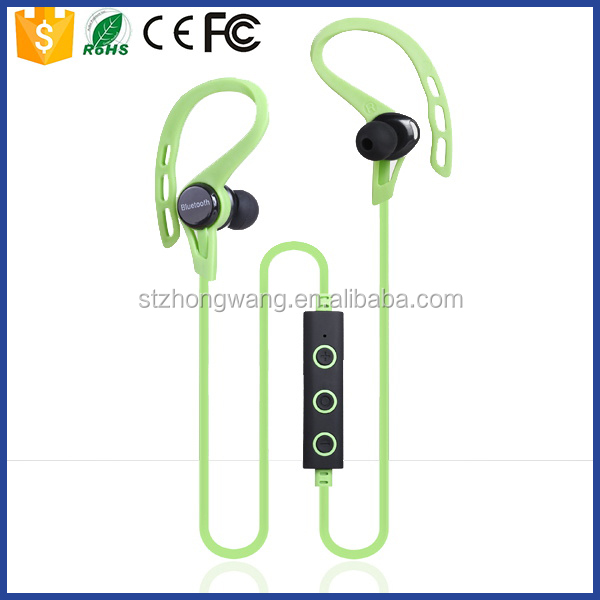 High quality bluetooth wireless earhook headphone for running,music
