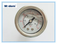 40mm Stainless steel oil filled pressure gauge